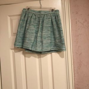 Topshop Mini Tweed Skirt